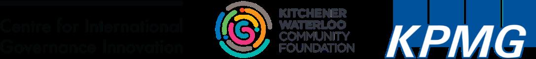 CIGI, KWCF and KPMG Logos