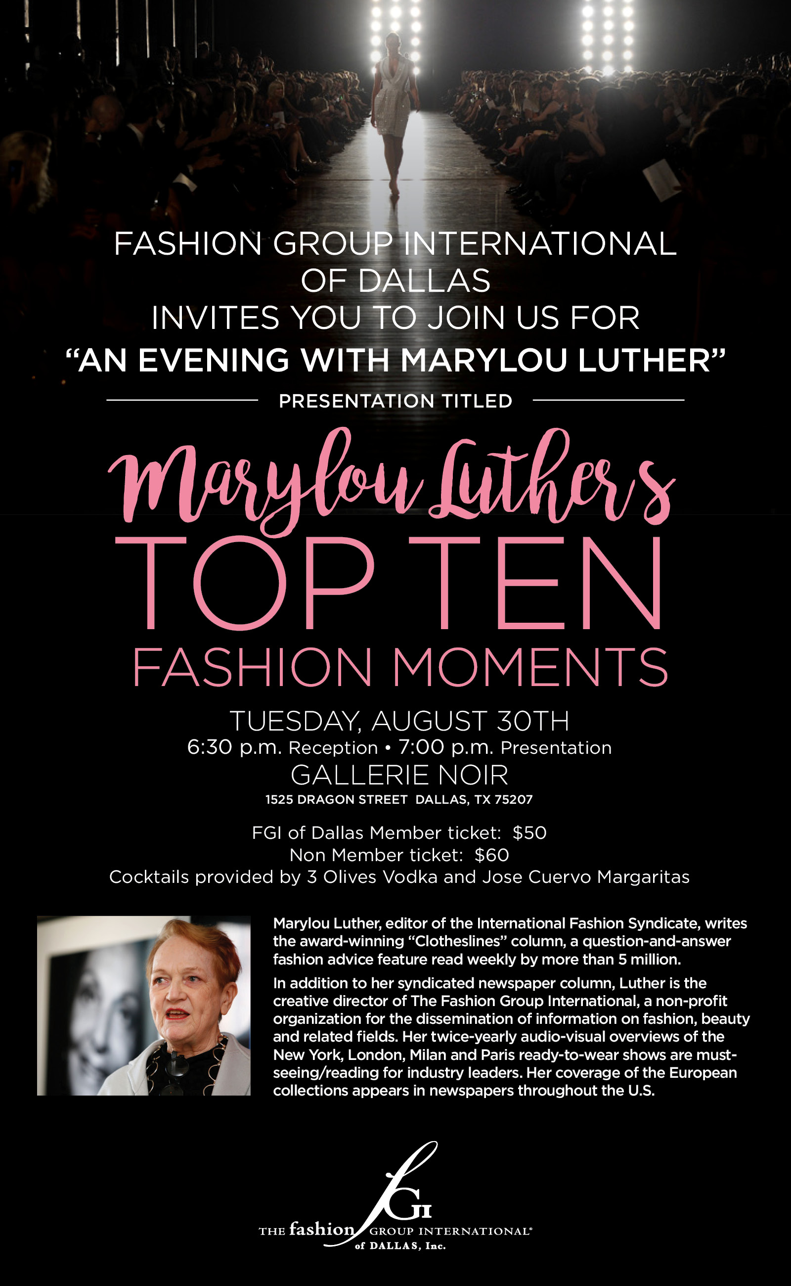 Mary Lou Luther Top Ten Fashion Moments