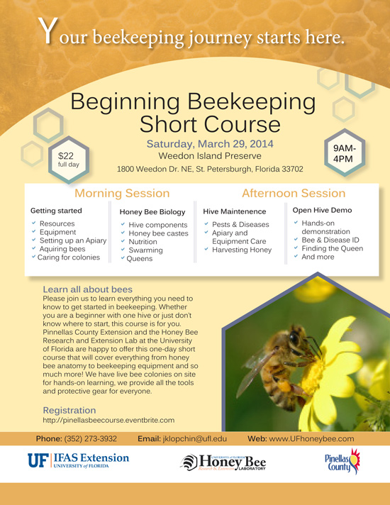 Pinellas Bee Course