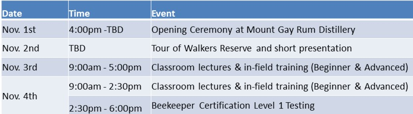 CBC Schedule