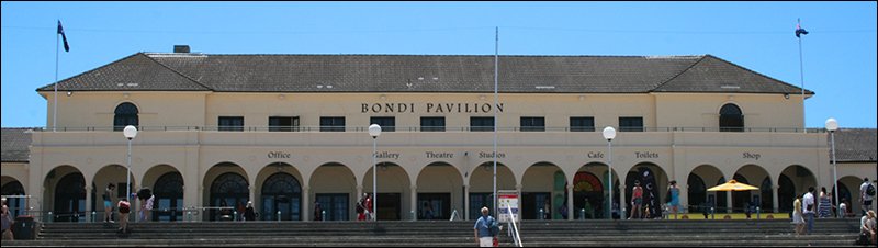Photograph of the Bondi Pavilion exterior