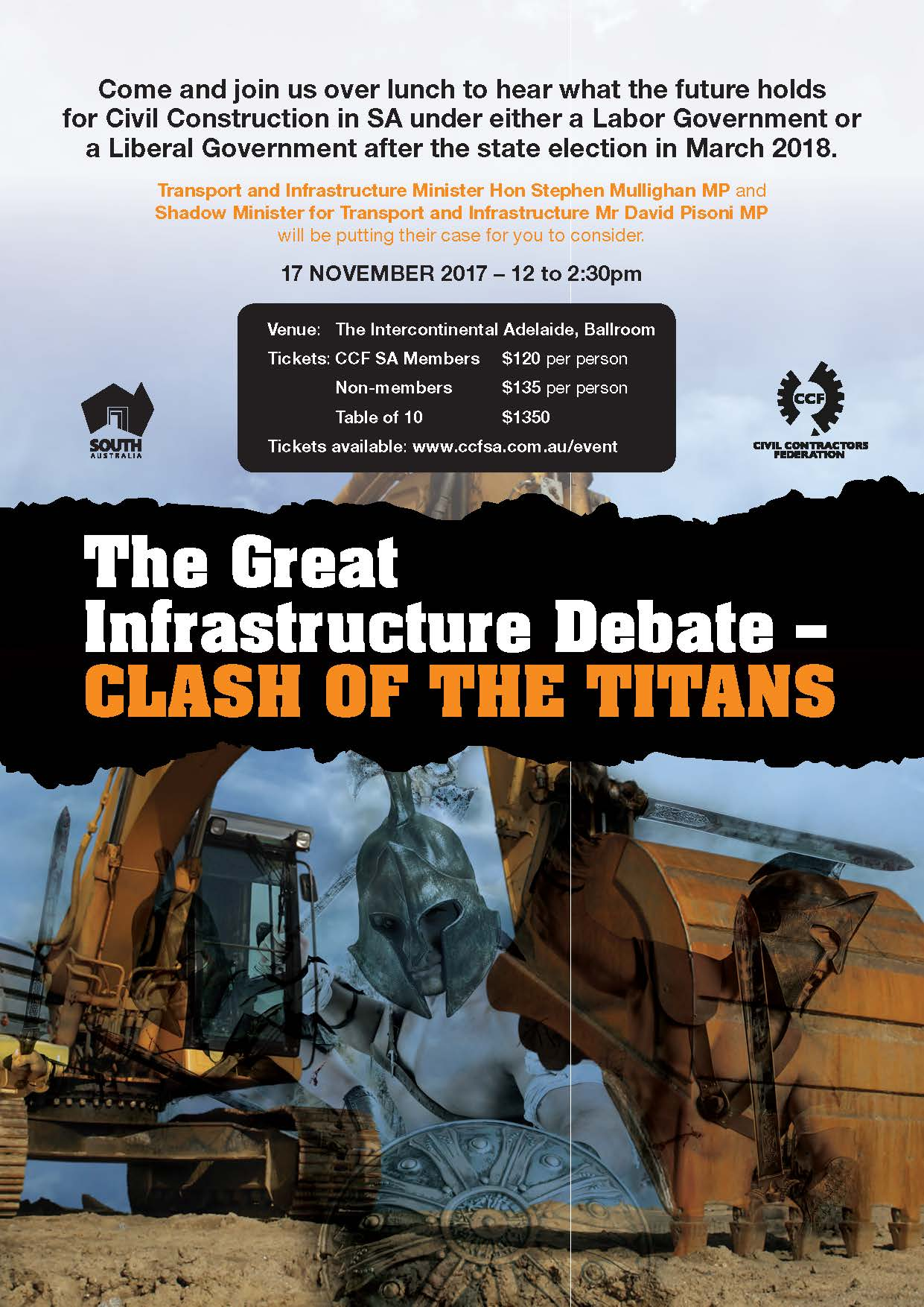 The Great Infrastructure Debate - Clash of the Titans