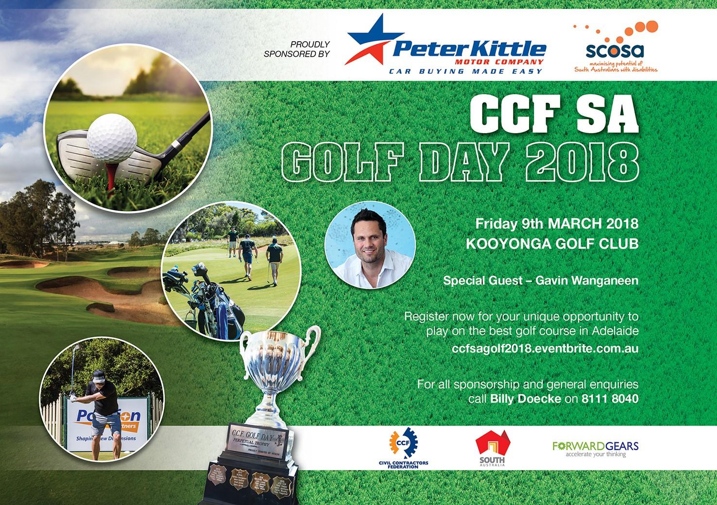 2018 CCF SA Golf Day