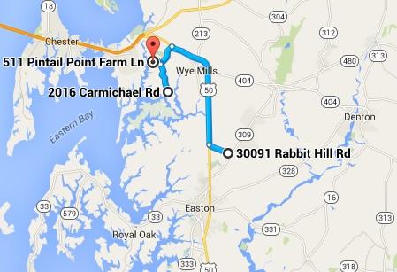 Farm Tour Map