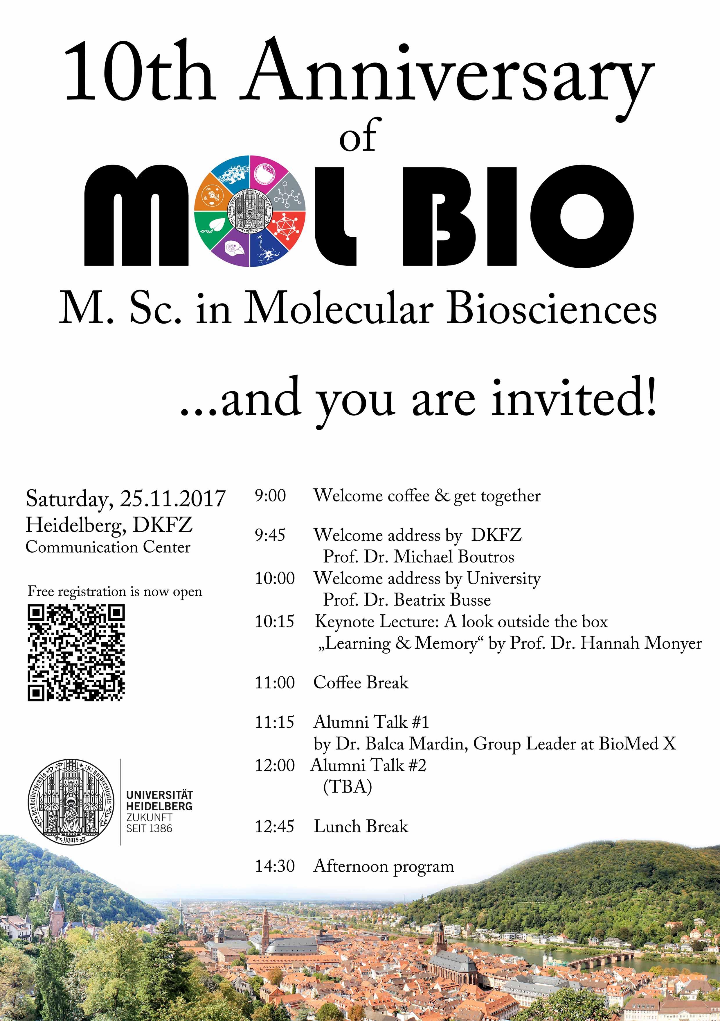 10th anniversary MolBio