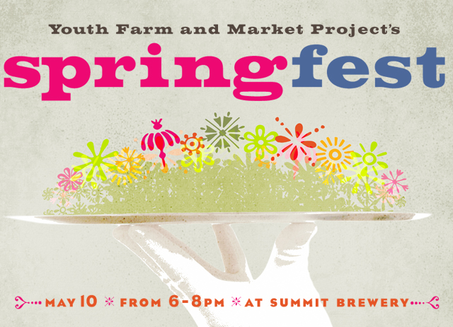 Youth Farm and Market Project Spring Fest logo art