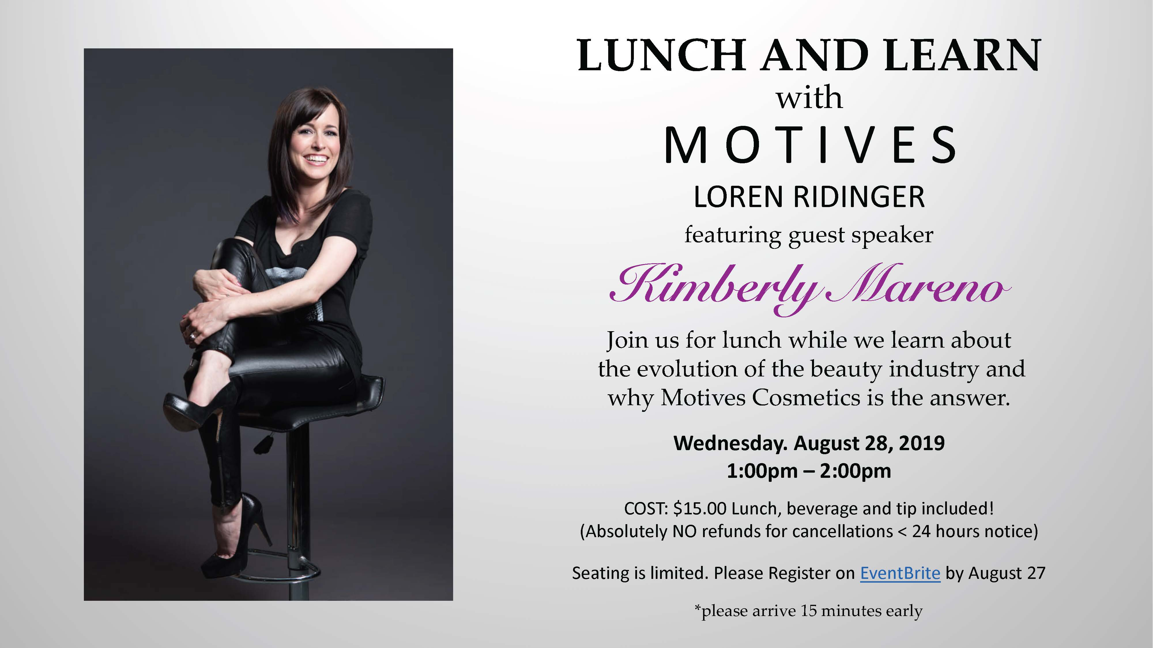 Motives Lunch and Learn Flier