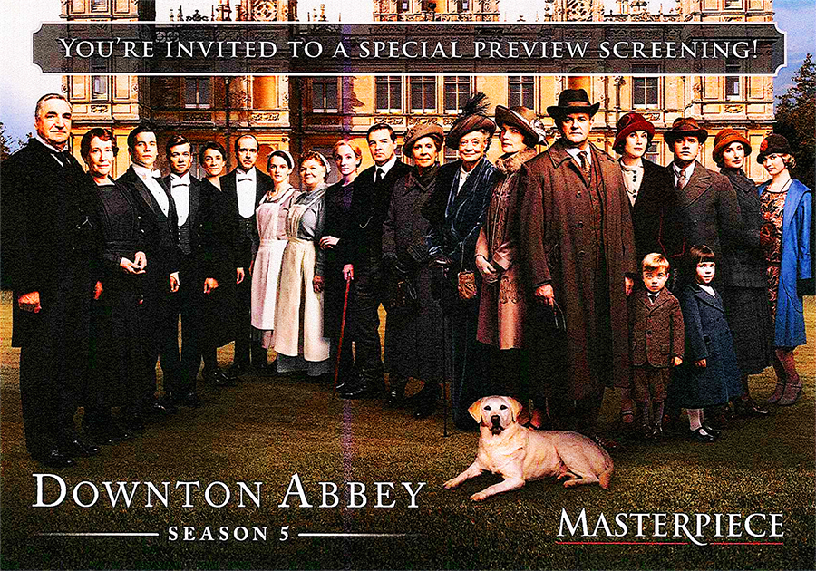 Wtvs downton abbey preview tickets tue dec 16 2014 at 8 for Downton abbey tour tickets