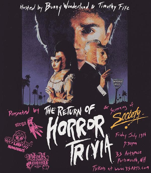 Horror Trivia Poster