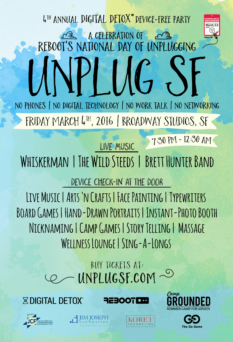 Unplug SF 2016
