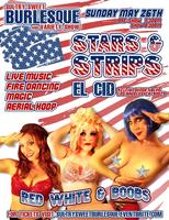 "Sultry Sweet Burlesque and Variety Show  ""Stars & Strips""..."