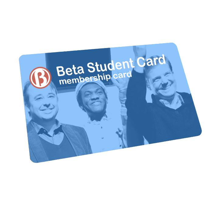 BetaStudent Card