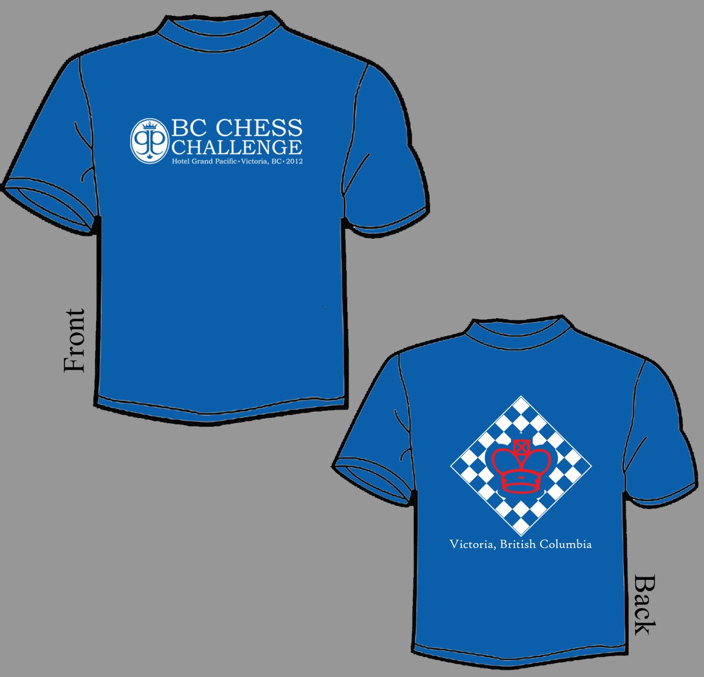 BC Chess Challenge T Shirt 2012