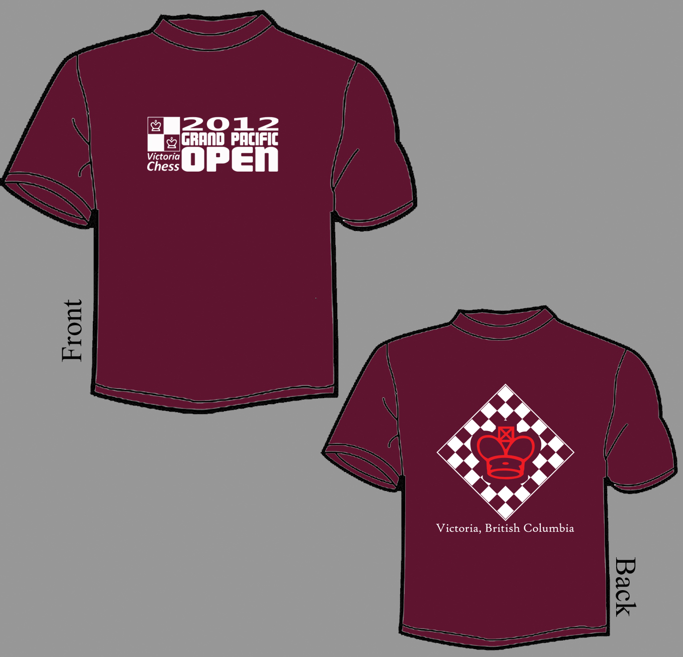 GPO T Shirt Front and Back