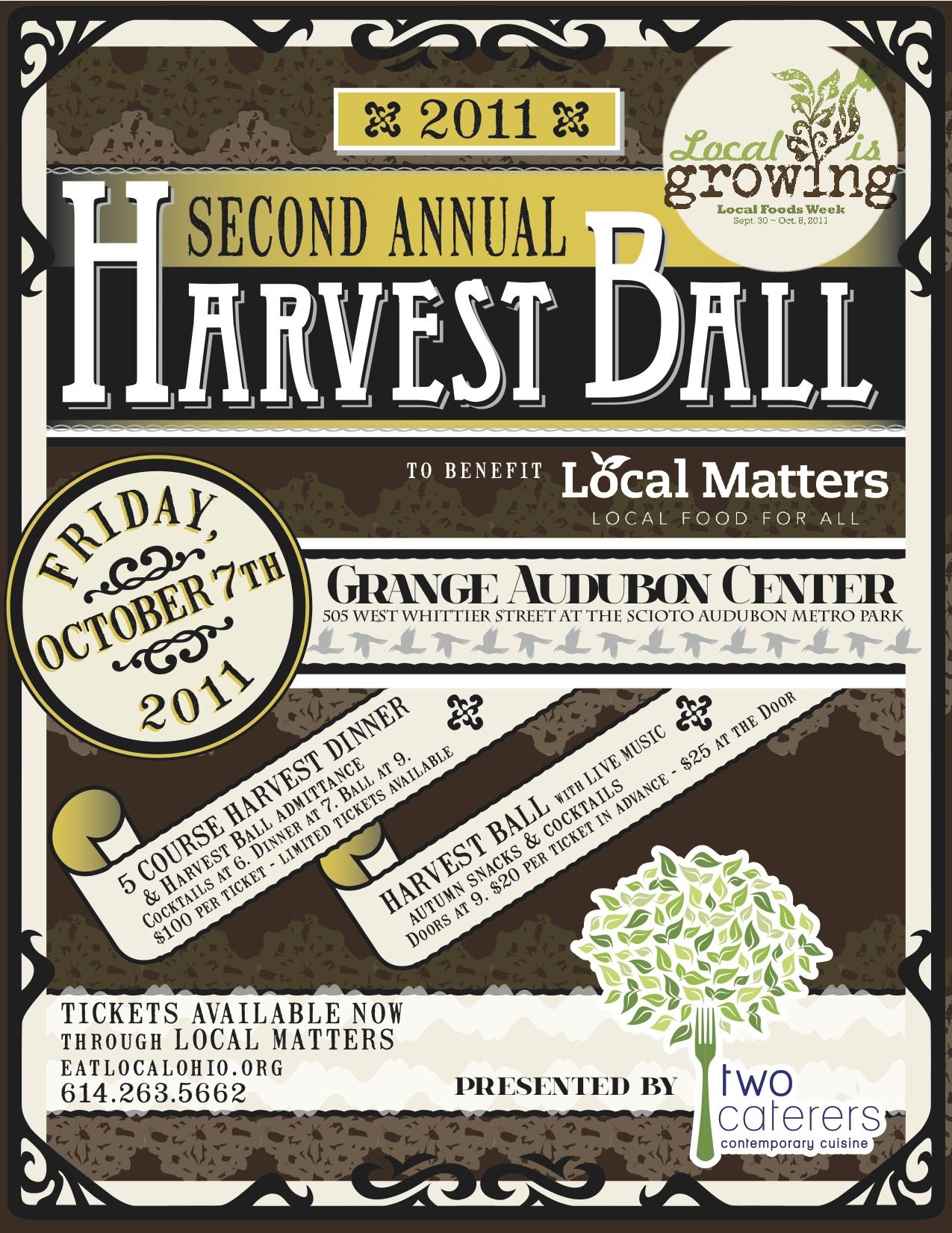 Harvest Dinner and Ball
