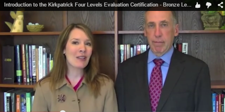 Jim and Wendy Kirkpatrick Evaluation Video