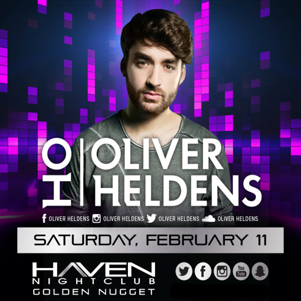 2/11 OLIVER HELDENS Performing LIVE #Haven #AtlanticCity Pre-Sale Tickets