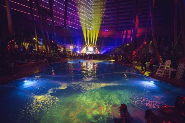 Scott Disick The Pool After Dark at Harrahs Resort AC Guest list!