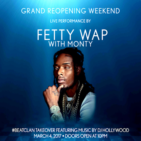 3/4 - FETTY WAP Reduced Only, Pool After Dark Atlantic City - Pre-Sale tickets will be cheaper than Guest List!