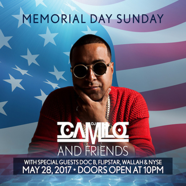 5/28 DJ Camilo + Friends w Special Guest TBA! 10pm-4am The Pool After Dark MDW 2017 - Limited Pre Sale Tickets!