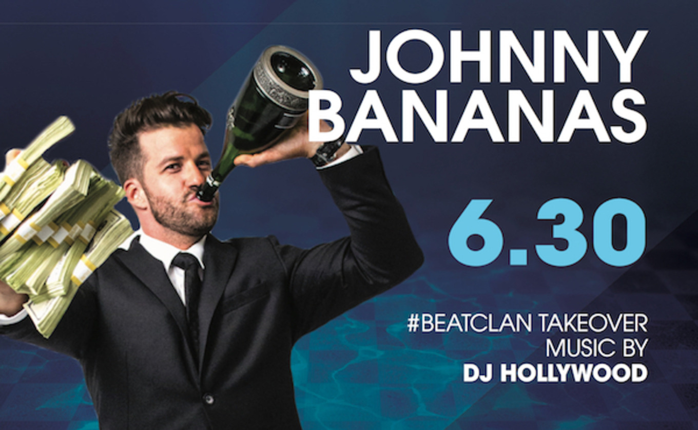 Johnny Bananas of The Challenge Hosts! Pool After Dark Atlantic City 6/30 FREE Admission Guest List