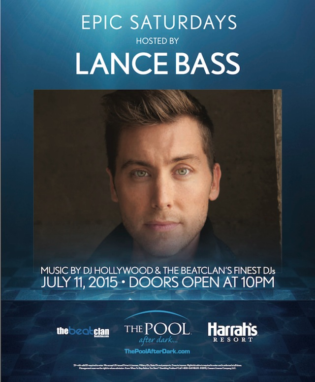 LANCE BASS ♞ comes to… The Pool After Dark! 7/11 - Discount Admission Guestlist
