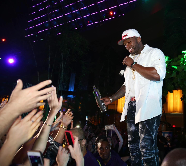 50 Cent $ The Pool After Dark at Harrah's Resort Atlantic City ...
