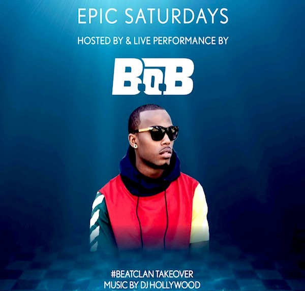 9/2 B.O.B. Performing Live! LDW Bash! The #1 Nightclub Pool Party in Atlantic City! Get on our list for $10 off admission! www.AnyCityPromotions.com