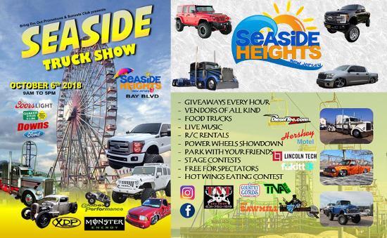 Seaside Truck Show 2018!