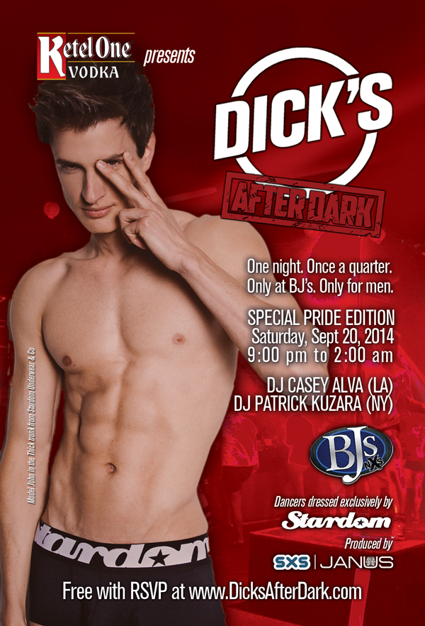 Dick's After Dark Dallas Pride 2014