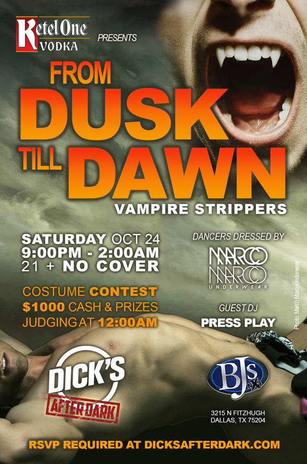 Ketel One presents From Dusk Till Dawn Flyer