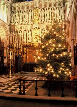 High Altar Christmas Tree