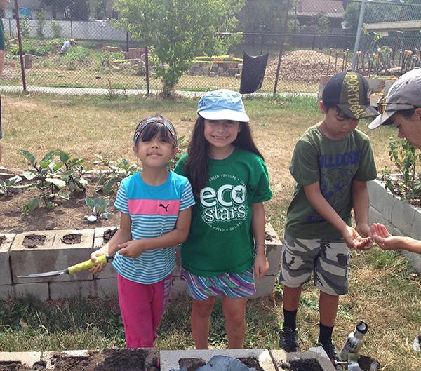 gardening at camp 2016