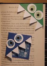 Monster paper bookmarks