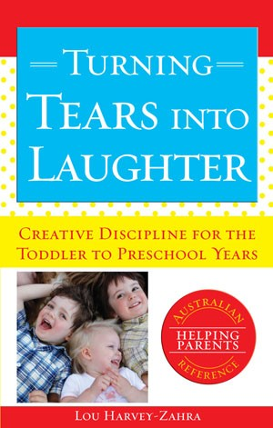 book cover turning tears into laughter