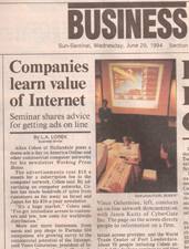 Sun-Sentinel Article June 29, 1994