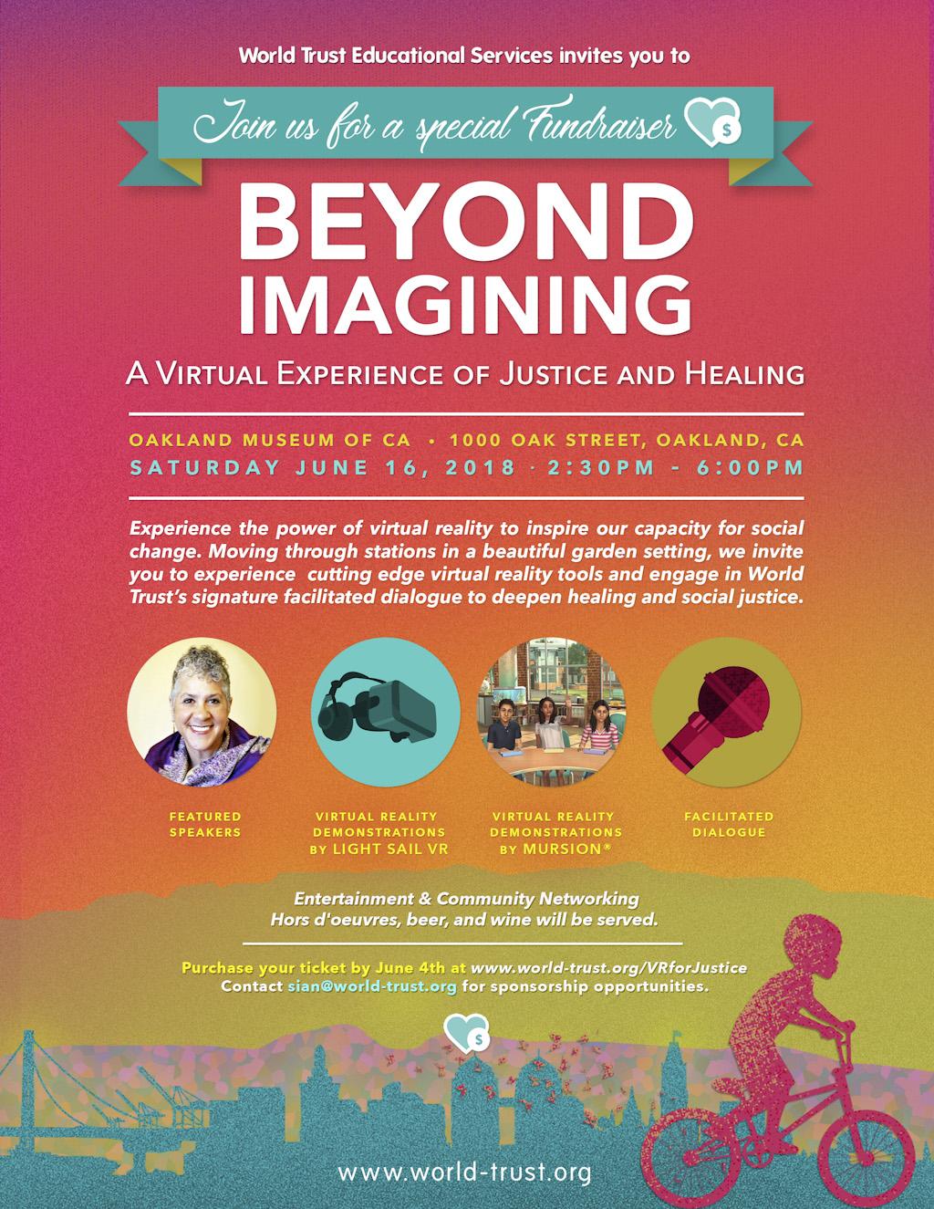 Beyond Imagining Digital Flyer - VR & Social Justice