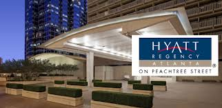 Hyatt Regency Hotel in Atlanta