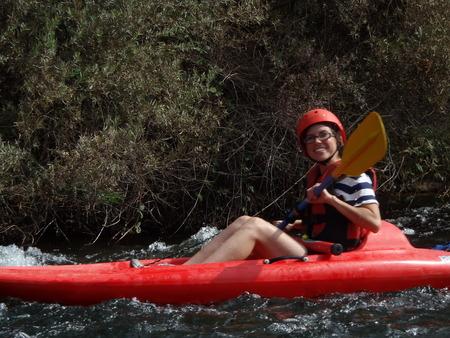 San Joaquin River Kayaker