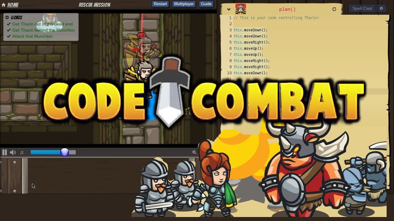 Learn to code using Codecombat