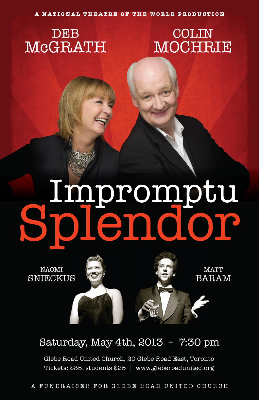 Impromptu Splendor Poster