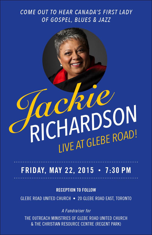 Jackie Richardson Live at Glebe Road