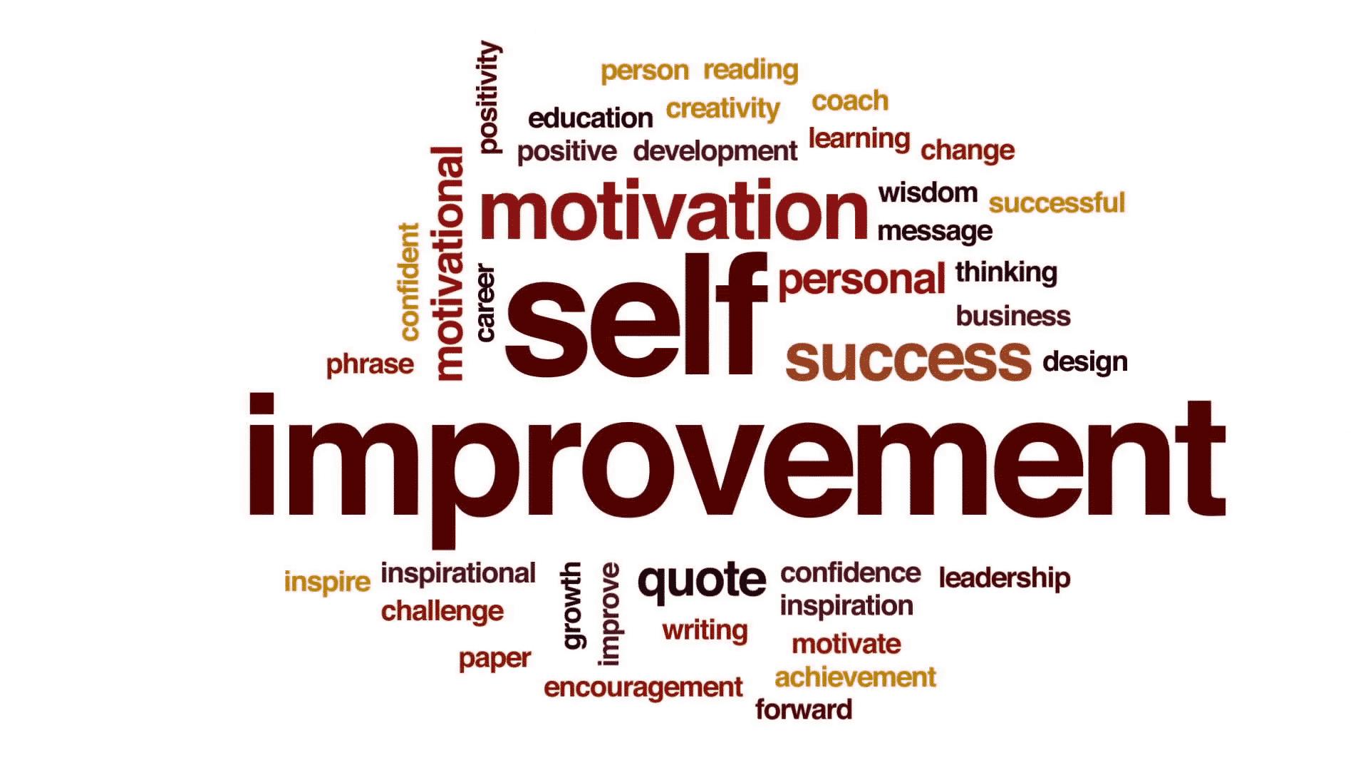 self improvement words