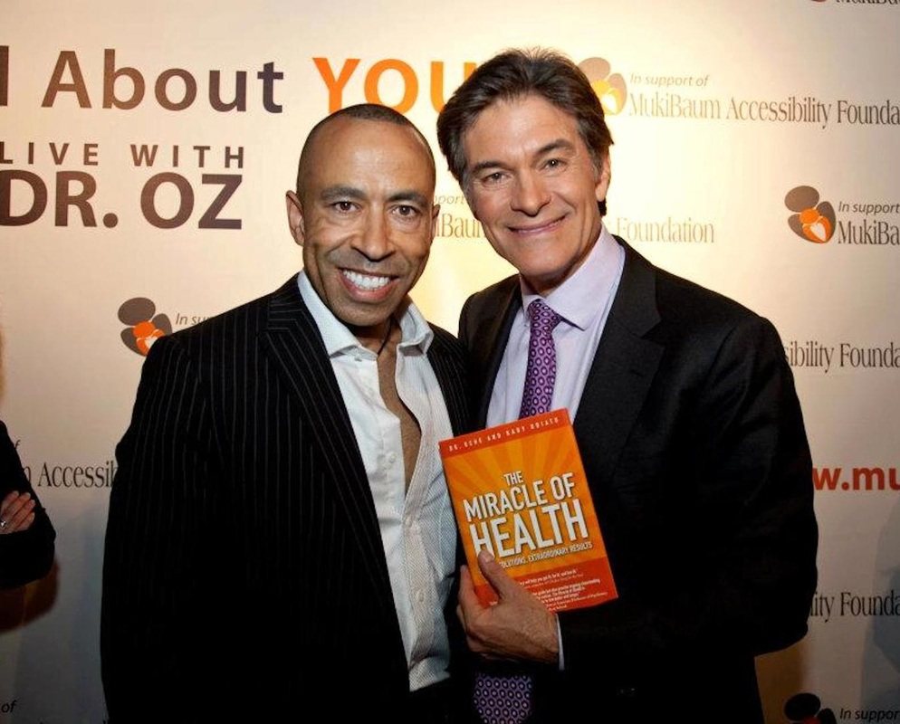 Ddr. Uche with Dr. Oz