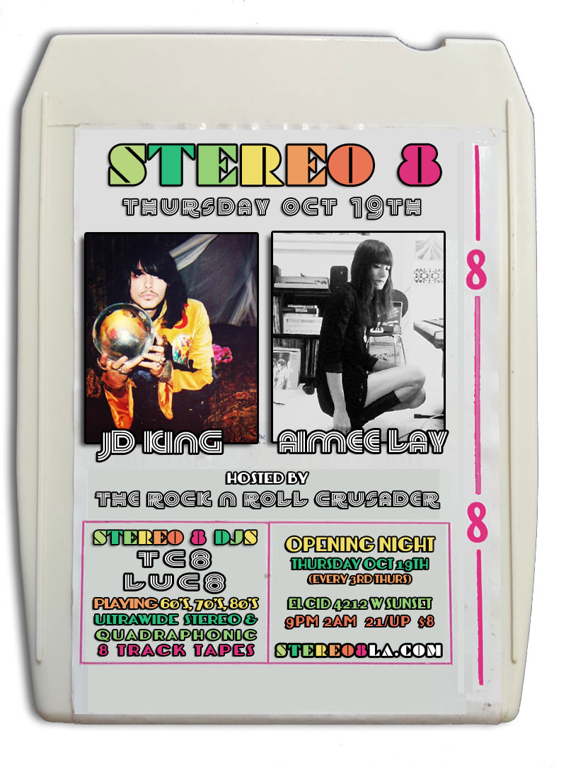 Stereo 8 Track Tape Club Los Angeles CA