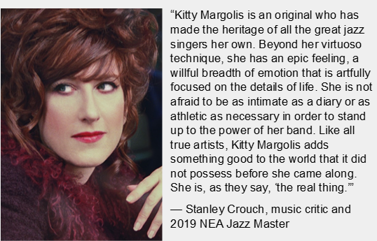 Picture and bio of Kitty Margolis