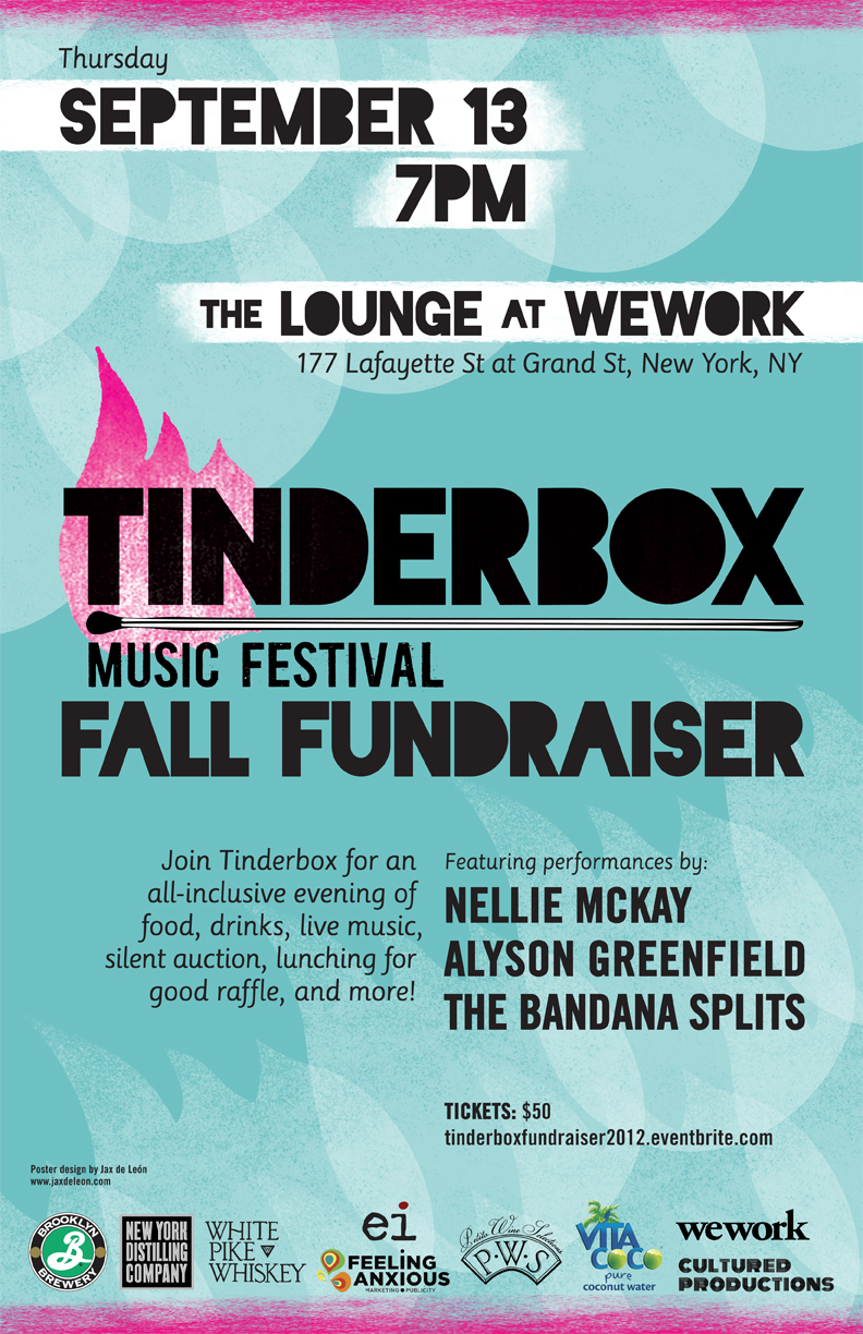 Tinderbox Fundraiser Poster