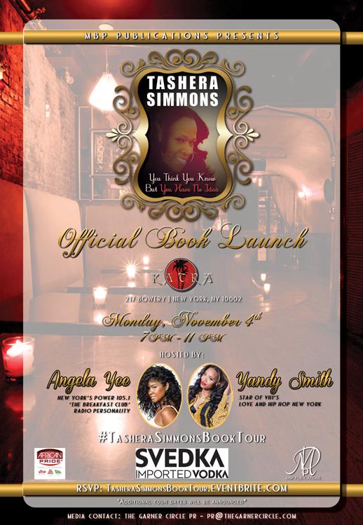 Tashera Simmons NYC Book Launch