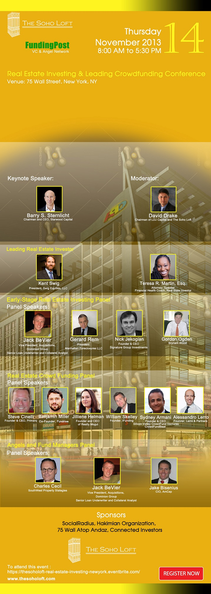 New York City Real Estate Investing & Leading Crowdfunding Conference