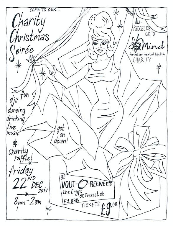 Christmas Soiree Invite